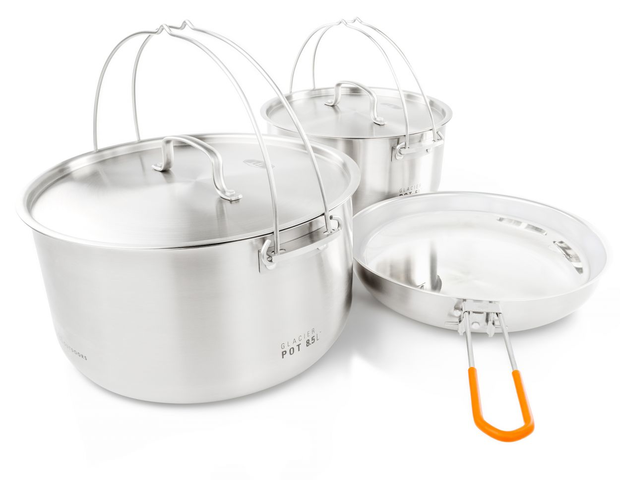 GSI Outdoors Glacier Stainless Steel Kettle
