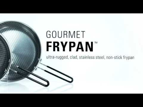Gsi Outdoors Glacier Stainless Gourmet Frypan