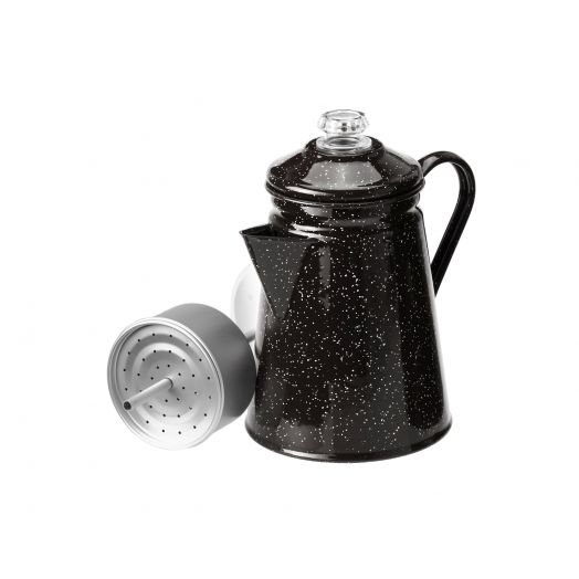 8 Cup Percolator- Black