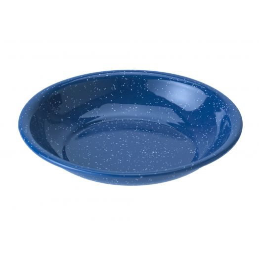 GSI Outdoors  Classic Speckled Cereal Bowl, Blue
