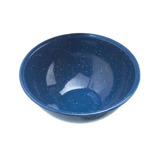 GSI Outdoors  Classic Speckled 6 inch Mixing Bowl, Blue