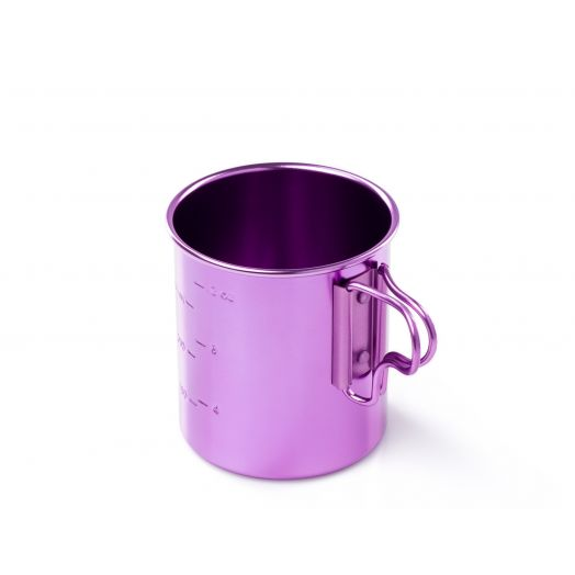 GSI Outdoors Bugaboo Purple 14 fl. oz. lightweight Cup with graduations