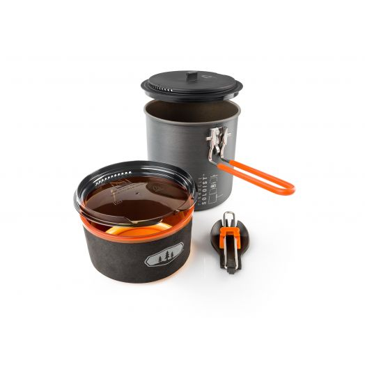GSI Outdoors Pinnacle Soloist II, Two-person Cookset