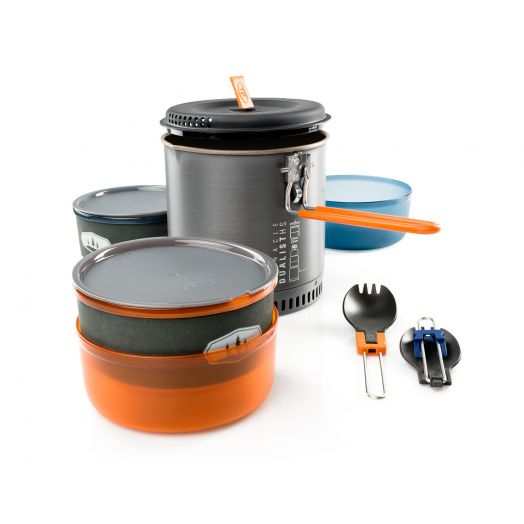 GSI Outdoors Pinnacle Dualist HS, Two-person Cookset