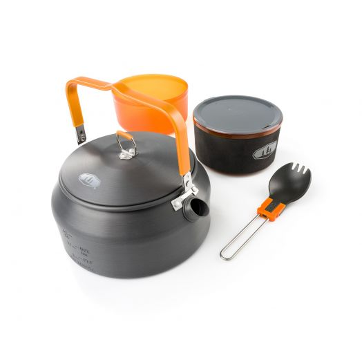 GSI Outdoors Halulite Ketalist II, Backcountry Cookset for One