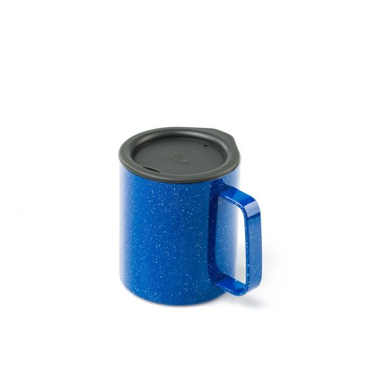 GSI Outdoors Glacier Stainless 10 fl. oz. Camp Cup- Blue Speckle