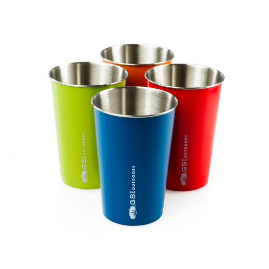 GSI Outdoors Glacier Stainless Pint Set- Multi