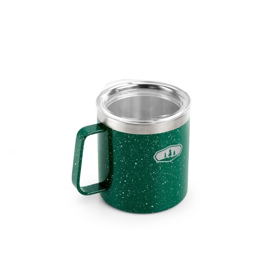 Glacier Stainless 15 fl. oz. Camp Cup- Green Speckle