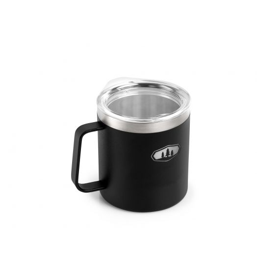 Glacier Stainless 15 fl. oz. Camp Cup- Black