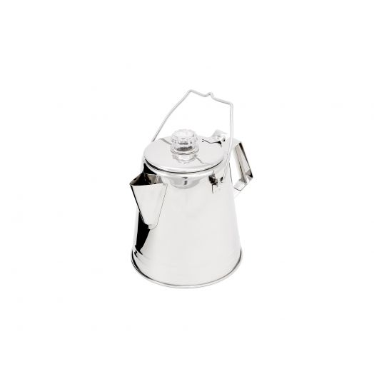 GSI Outdoors Glacier Stainless Percolator, stainless steel coffee percolator