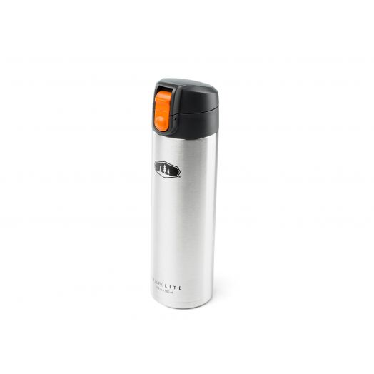 GSI Outdoors MicroLite 500 Flip Insulated Bottle- Brushed