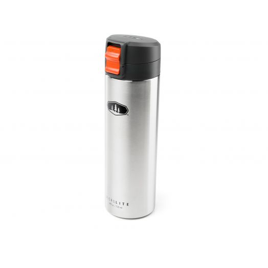 GSI Outdoors MicroLite 720 Flip Insulated Bottle- Brushed