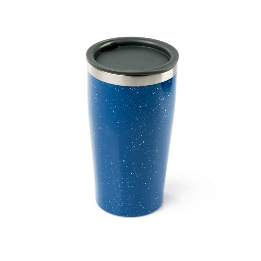 GSI Outdoors Glacier Stainless 16 fl. oz. Vacuum Tumbler- Blue Speck