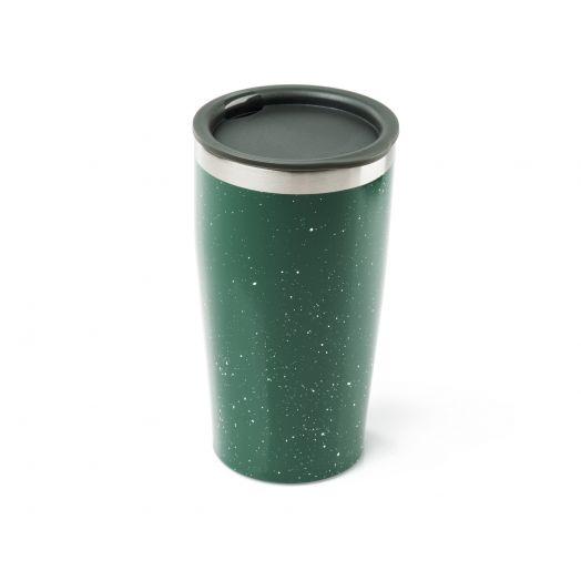 GSI Outdoors Glacier Stainless 16 fl. oz. Vacuum Tumbler- Green Spec