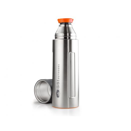 GSI Outdoors Glacier Stainless 1 L Vacuum Bottle- Stainless