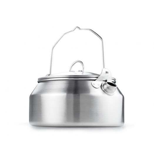 GSI Outdoors stainless steel 1 liter tea kettle with handle