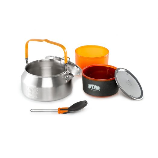 Glacier Stainless Ketalist, one person backpacking tea set