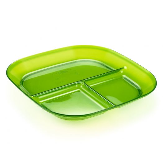 GSI Outdoors Infinity Divided Plate- Green