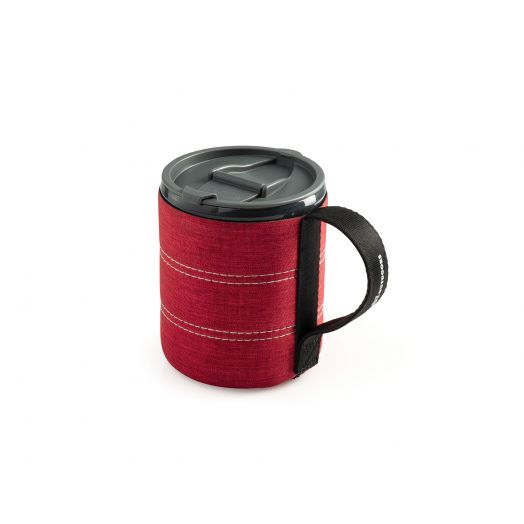 Infinity Backpacker Mug- Red