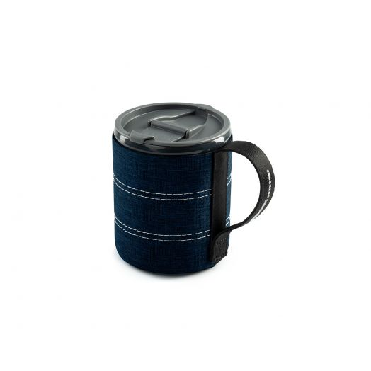 Infinity Backpacker Mug- Blue