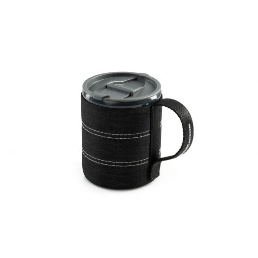 Infinity Backpacker Mug- Black