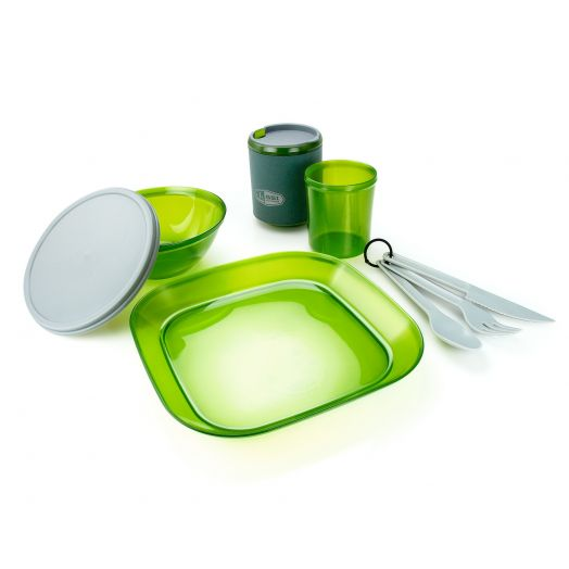 GSI Outdoors Infinity 1 Person Tableset- Green
