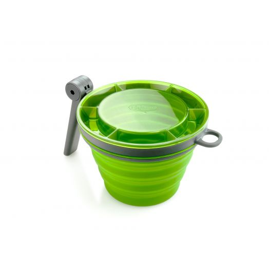 GSI Outdoors Collapsible Fairshare Mug- Green