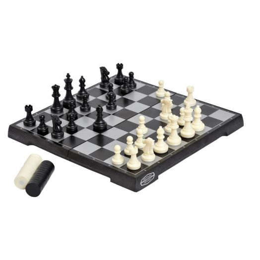 Outside Inside Travel Basecamp Magnetic Chess/ Checkers